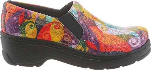 Newport By Klogs Footwear Unisex Naples Nursing Shoe Micro Puff Patent
