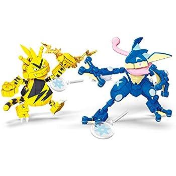Amazon.com: Mega Construx Pokemon Froakie Vs. Dedenne: Toys ...