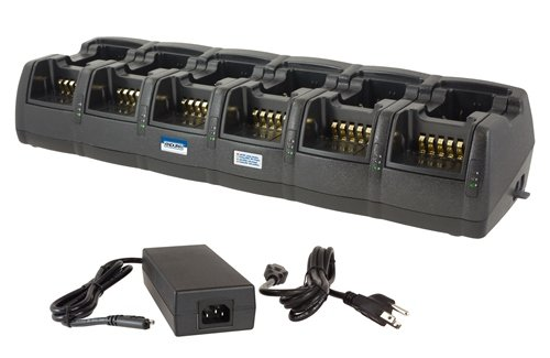Power Products 12-Unit Rapid Charger for Motorola MagOne BPR40 and BearCom BC130 by Power Products (Image #1)