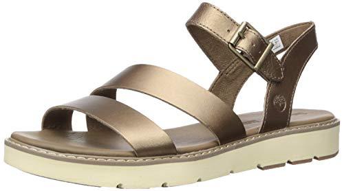 - Timberland Women's Bailey Park Summer Platform Sandals Flat, Gold Full Grain, 6.5 Medium US