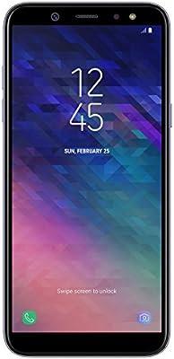 Samsung Galaxy A6 Smartphone (14,25 cm (5,6 Zoll) AMOLED Display, 32GB Interner Speicher und 3GB RAM, Dual-SIM, Android 8.0) Lila: Amazon.es: Electrónica