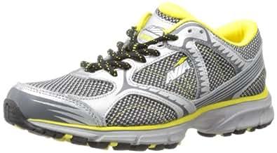 AVIA Women's Avi Trailside Running Shoe,Chrome Silver/Black/Blazing Yellow/Iron Grey,7 W US