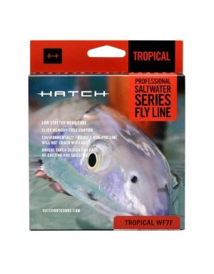 (Hatch Outdoors Saltwater Fly Line - Floating SAND/GRASS WF9F)
