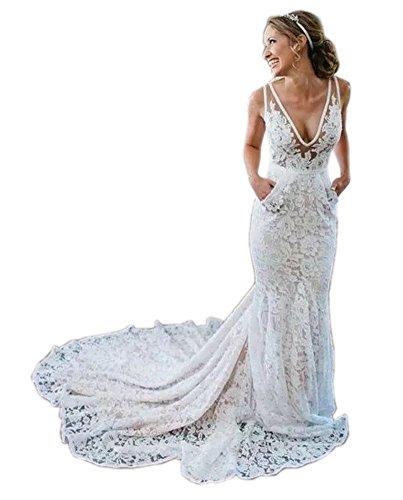 hippie beach wedding dresses - 8