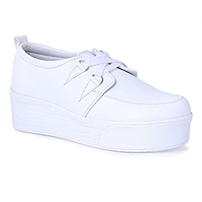 Zap N Grab Girls Casual Shoes White Color Original Casuals For Women