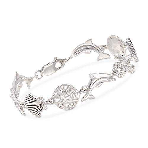 Ross-Simons Sterling Silver Sea Life Link