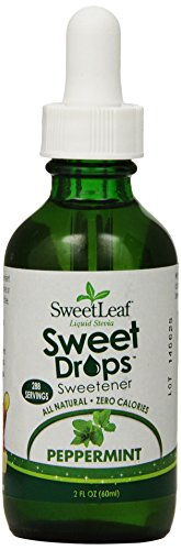 (SweetLeaf Sweet Drops Liquid Stevia Sweetener, Peppermint, 2 Ounce  ( Pack May Vary ))
