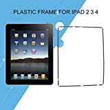 LCD Touch Screen Digitizer Middle Frame Bezel Screen Support Parts for Apple for iPad 2 3 4 Black