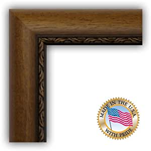 20x30 / 20 x 30 Walnut with Rope Picture Frame - NEW .. 1.125'' wide Complete