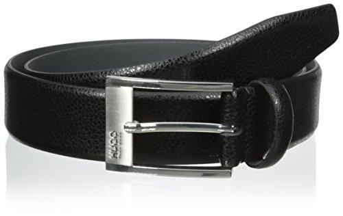 Hugo Boss Men's C-Ellot, Black, 36 US, 9 - Boss Black Leather Belt Shopping Results