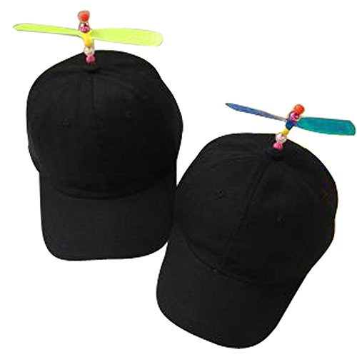 GEANBAYE Adult And Child Both Size Funny Baseball Style Multicolor Optional Propeller Hat ()