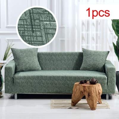 Phenomenal Amazon Com W Rooney Sofa Cover Cross Pattern Elastic Beutiful Home Inspiration Xortanetmahrainfo