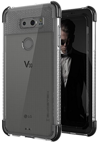 Ghostek Covert2 Clear LG V30 Case Military Grade Drop Tested | Ultra Thin Transparent – Supports Wireless Charging & Fingerprint Compatible | Black for $<!--$9.99-->