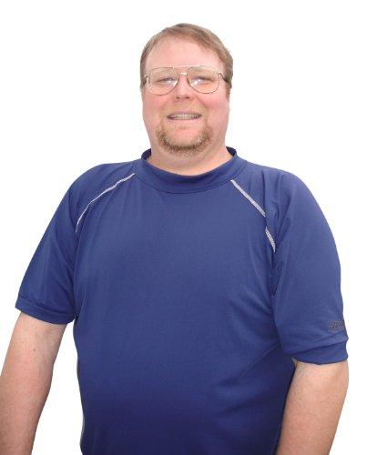 fa20ef8d07d Plus Size Rash Guard Swim Shirt For Big Men - Buy Online in Kuwait ...