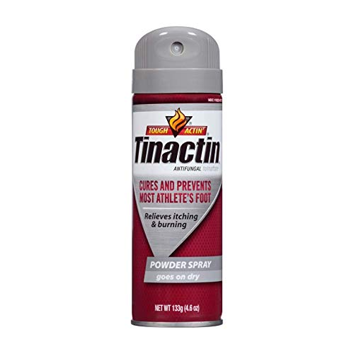 Tinactin Antifungal Powder Spray for Athlete's Foot 4.6 Ounces -