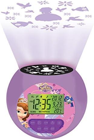 Amazon.es: Princesa Sofía - Reloj Despertador con proyector ...
