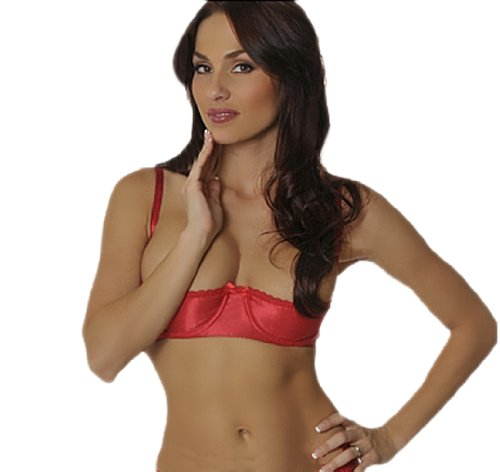 1 4 Cup Bra Tumblr Shimmering Satin 1 4 Cup