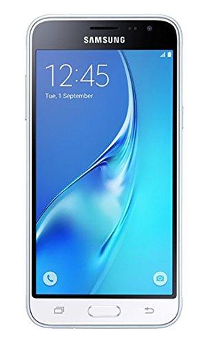 Samsung J3 16GB White SM-J320A - GSM Unlocked Phone (Renewed)