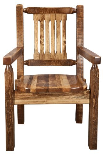Montana Woodworks Homestead Collection Captain's Chair for sale  Delivered anywhere in USA