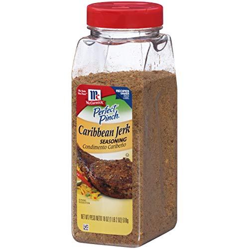 McCormick Perfect Pinch Caribbean Jerk Seasoning, 18 oz