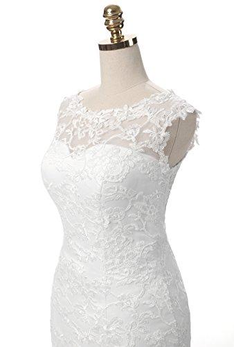 Ysmo - Vestido - para mujer Marfil