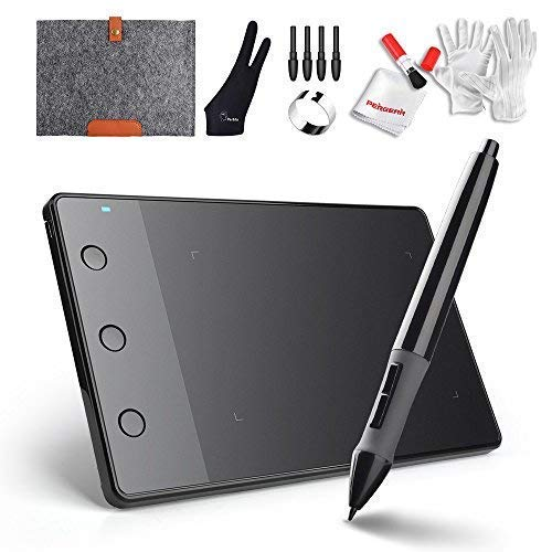 Best Digital Writing Pens - Huion H420 USB Graphics Drawing Tablet