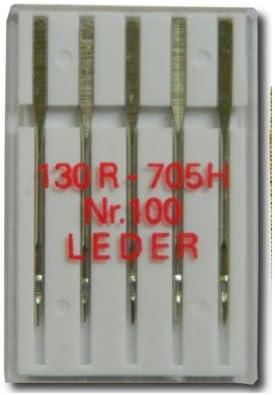 5 agujas para Máquinas de Coser cuero - 130R/705 horas - no 100 ...