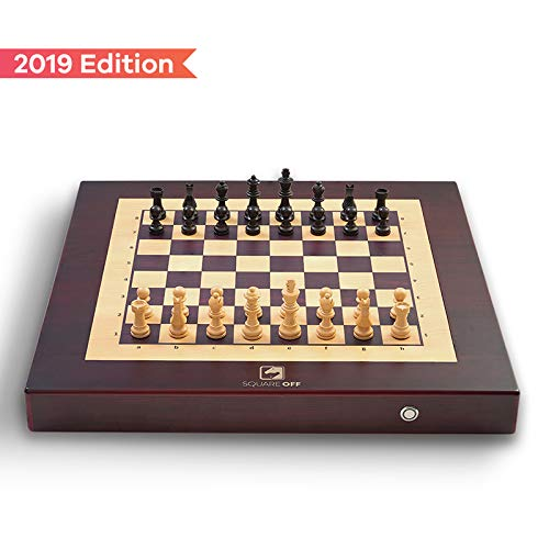 (Square Off Chess Set. A Smart automated Chess Board, which Moves The opponent's Pieces on its own. Play Against The AI or Anyone Across The Globe. Its Computer Chess on an Electronic Chess Set)