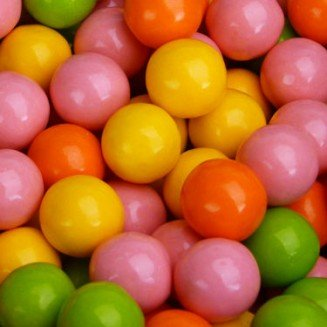 Bubble Bright NEON Gumballs Assorted 2 Pounds