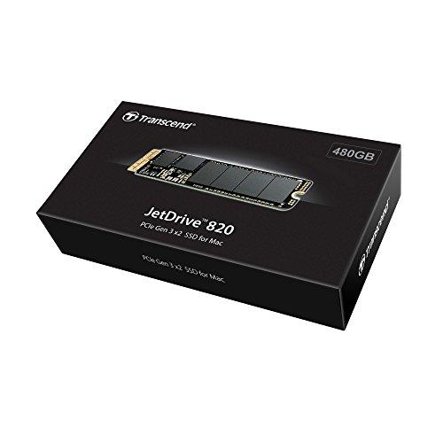 Transcend 480GB JetDrive 820 PCIe Gen3 x2 Solid State Drive (TS480GJDM820) by Transcend