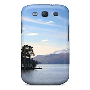 Durable Protector Case Cover With Scotl Loch Tay Hot Design For Galaxy S3