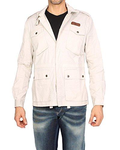 (PEPE JEANS - Men's jacket ETNA - beige, L)