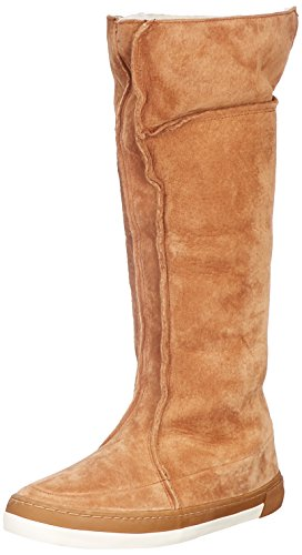 Boot Brown White Top Women's 704 Trainers N30 Dance Brown Oak Hi Hub off Brown Oak ExwqapZ0a