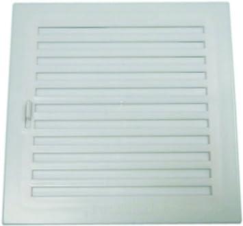 Anzapack 814331S Plastico Blanco Rejilla Con Cierre 20X20 Cm
