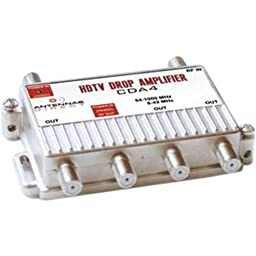 4 Port DTV Distribution Amplifier