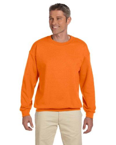 Gildan Men's Heavy Blend Crewneck Sweatshirt - XXX-Large - Safety ()