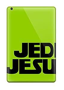 Tpu Shockproof/dirt-proof Jedi Jesus Funny Green Cover Case For Ipad(mini/mini 2)