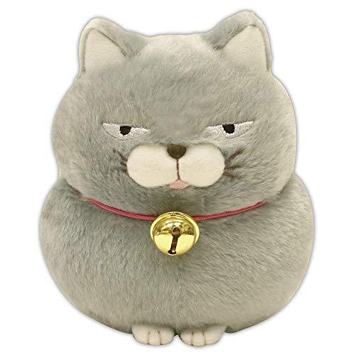 Amuse Higemanjyu Series Plush Cat Doll Dark Grey