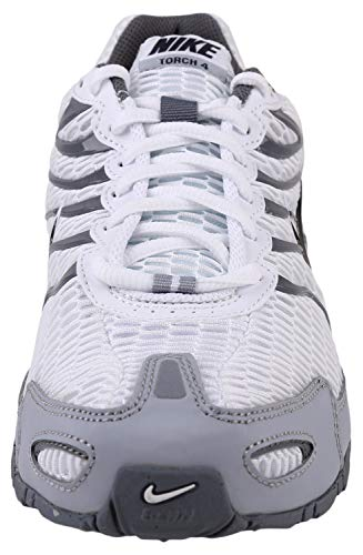 4 Torch Mens Nike Max Air US White Grey Shoe Wolf D Running 9 M Anthracite WIdttq
