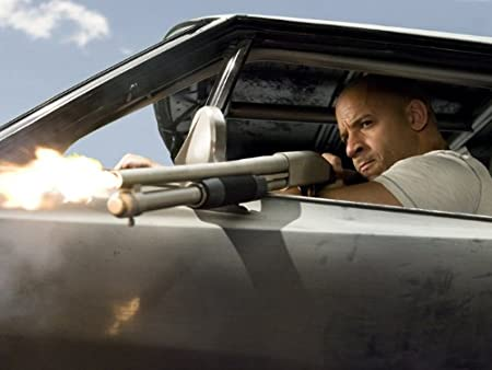 DV1239 Fast & Furious 4 Vin Diesel Dominic Toretto Shotgun