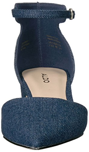 Aldo Womens Zusien Mary Jane Flat Navy