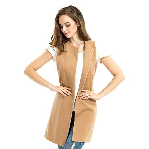Biovan Womens Sleeveless Longline Waistcoat product image