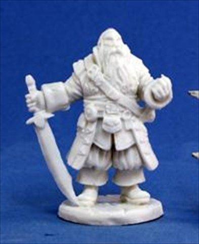 Grim Reaper miniature 77,132 Bones - Barnabus Frost, pirate captain