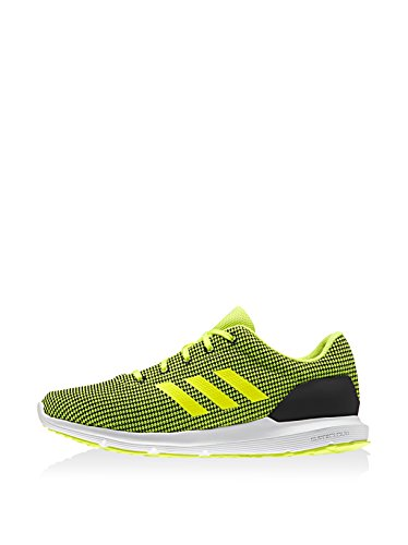 adidas Cosmic M, Zapatillas de Running para Hombre, Negro (Negbas / Limsho / Ftwbla), 42 2/3 EU