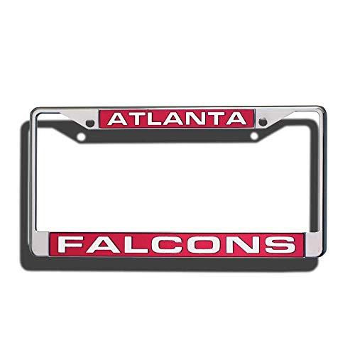 Titan Eletina Car Decorative License Laser Chrome Plate - Plate Falcons Laser License Atlanta