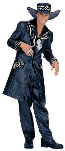 Mac Daddy Adult Pimp Mens Halloween Costume size (Mac Daddy Costume)