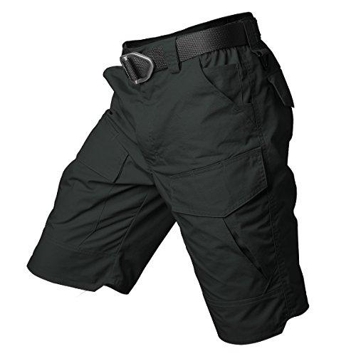 ReFire Gear Men's Urban Tactical Military EDC Cargo Shorts Rip Stop Cotton Outdoor Camo ()