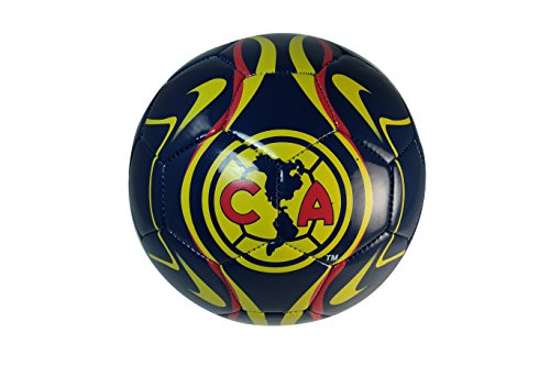 CA Club America Authentic Official Licensed Soccer Ball Size 4 -002 by RHINOXGROUP by RHINOXGROUP