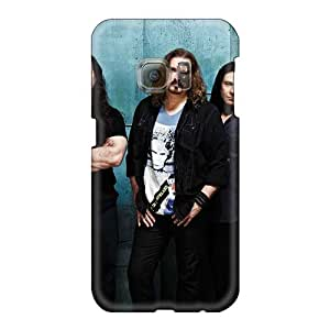 Scratch Protection Hard Phone Cases For Samsung Galaxy S6 With Customized Realistic Dream Theater Band Pictures Marycase88