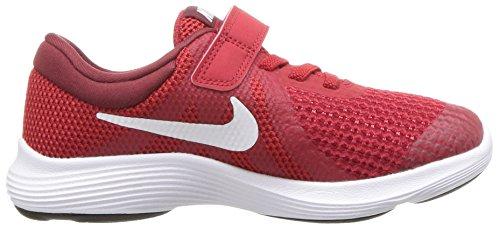 Red R Sneaker Kleinkinder Nike Enfant white 601 Basses Sneakers Revolution 4 team gym Mixte Rouge fpvTwqH